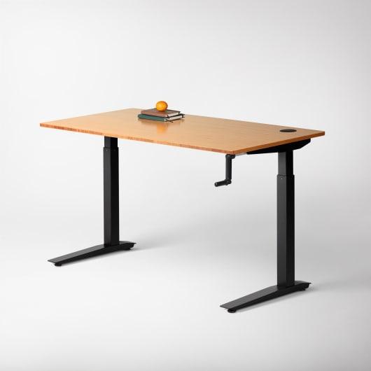 Jarvis Crank Powered Standing Desk Fully, Standing Desk Crank