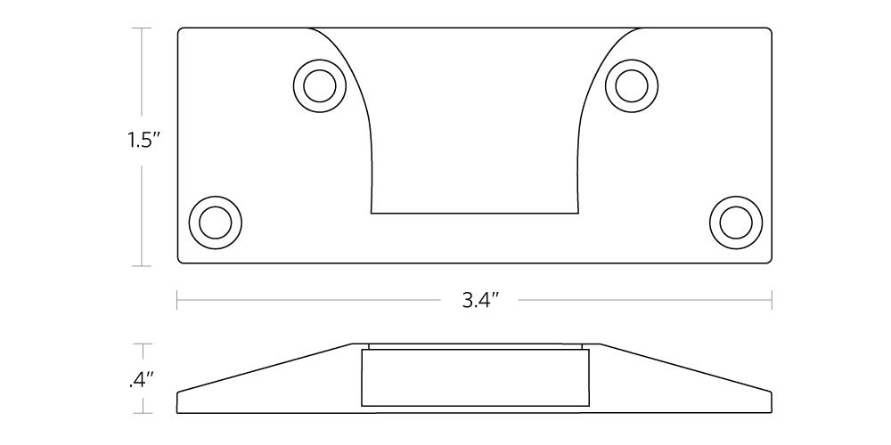 fully jarvis bottle opener dimensions