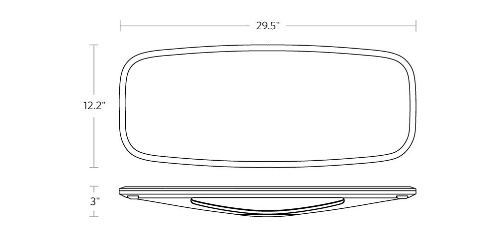 fully fully-floatdeck-balance-board dimensions