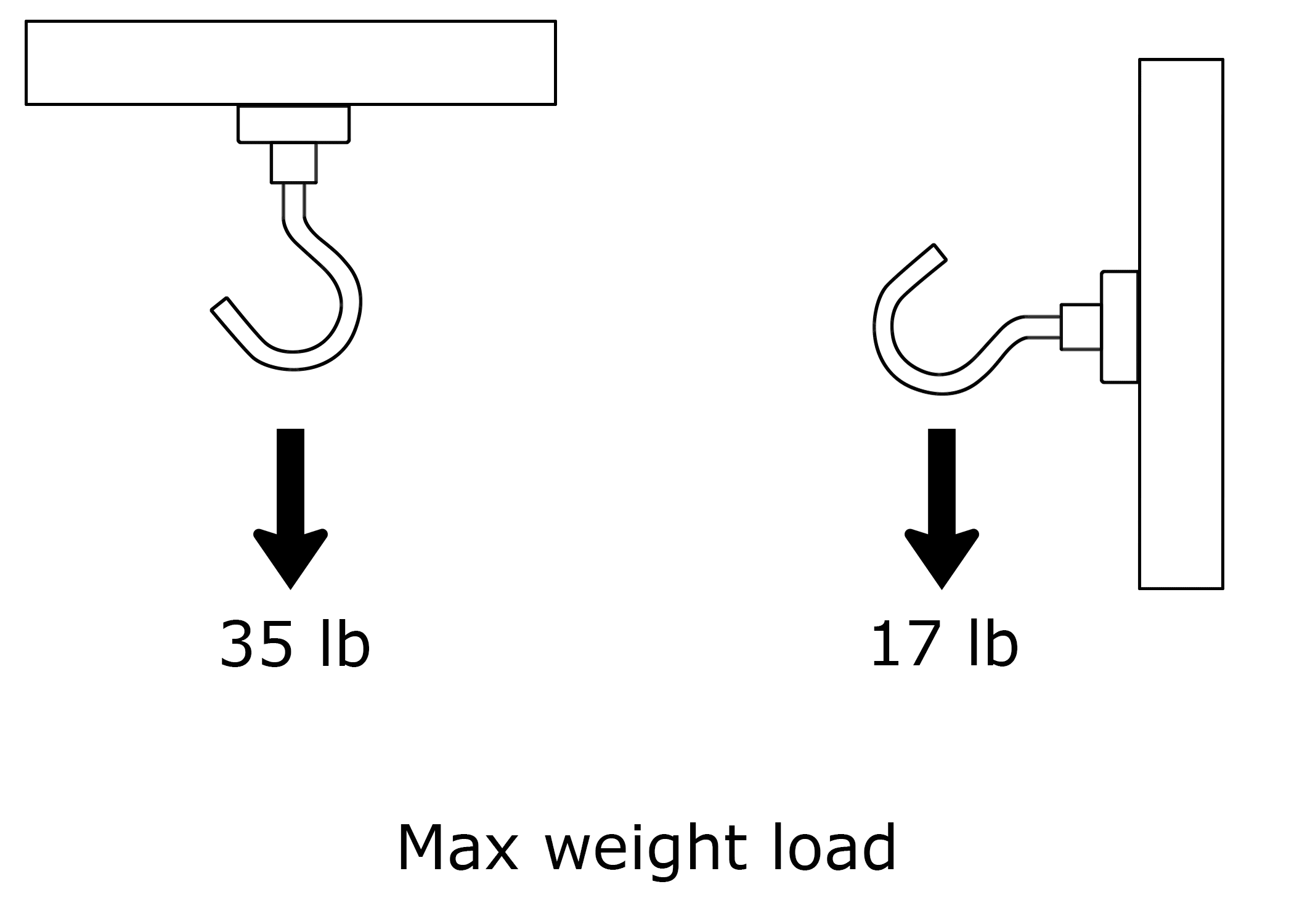 fully jarvis magnetic desk hooks max weight load diagram