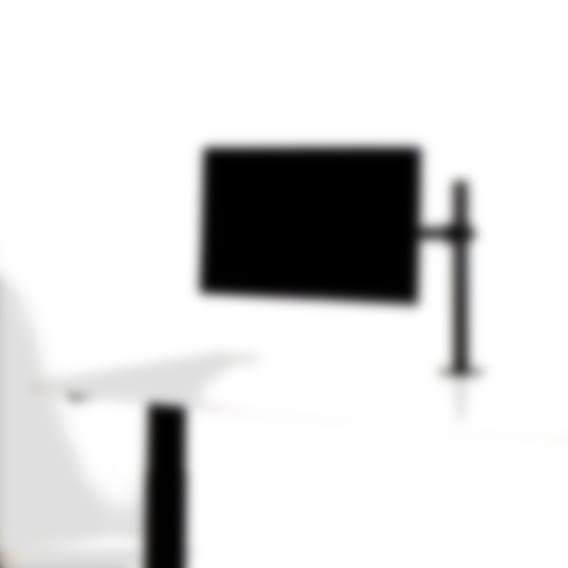 Able single monitor arm black