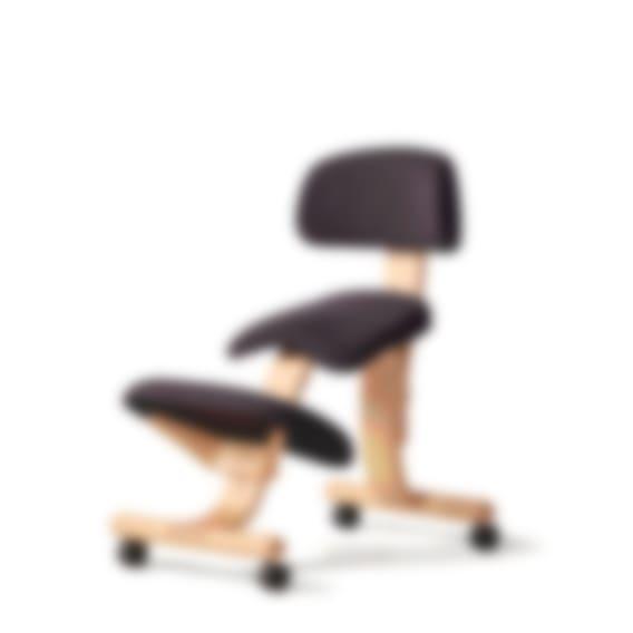 fully balans kneeling chair black