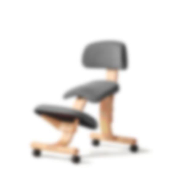 fully balans kneeling chair gray