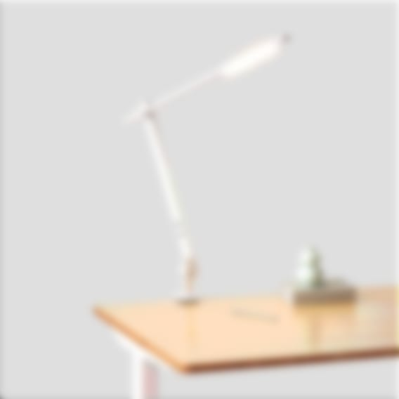 fully beam led desk lamp on jarvis desk white clamp
