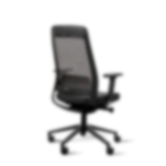 Fully desk chair - black