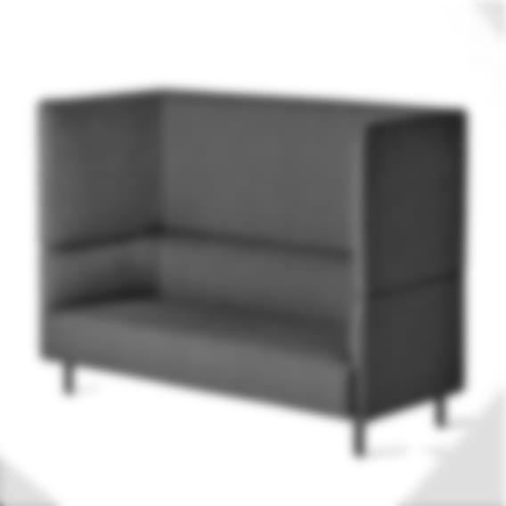 Freya Highback - Graphite Upholstery