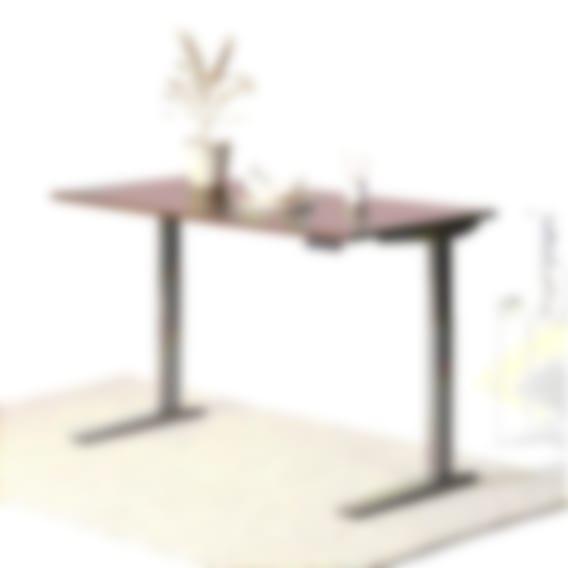 fully jarvis laminate standing desk walnut alloy frame