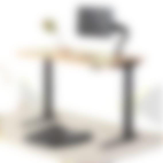 Bureau assis-debout Jarvis en bambou