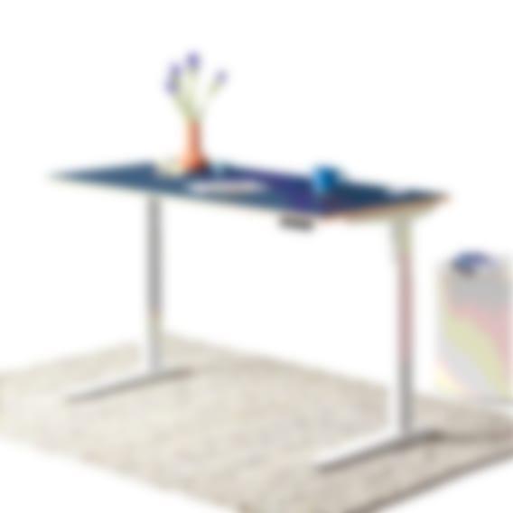 Bureau assis-debout Jarvis Designer en multiplex