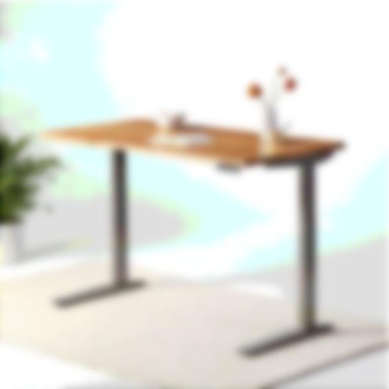 fully jarvis white oak adjustable height standing desk alloy frame