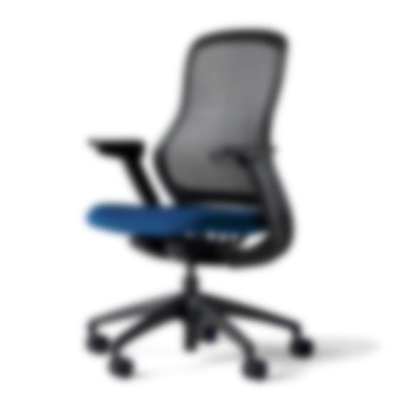 fully knoll regeneration chair onyx back marine seat