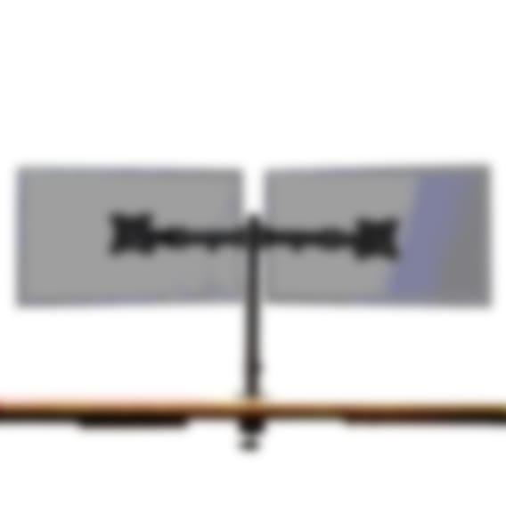 Fully Pole-Mounted Monitor Arm