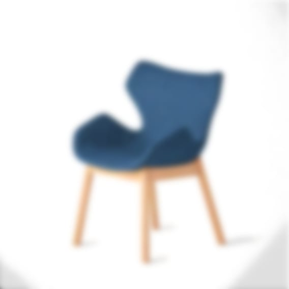 Wing Chair Natural Base Night