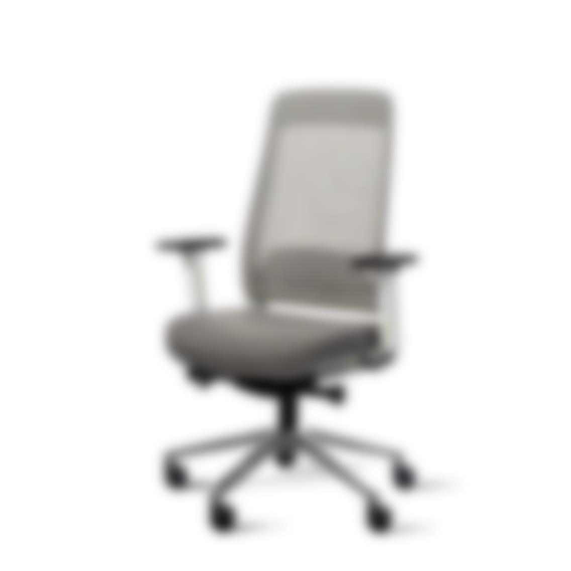 Fully desk chair white