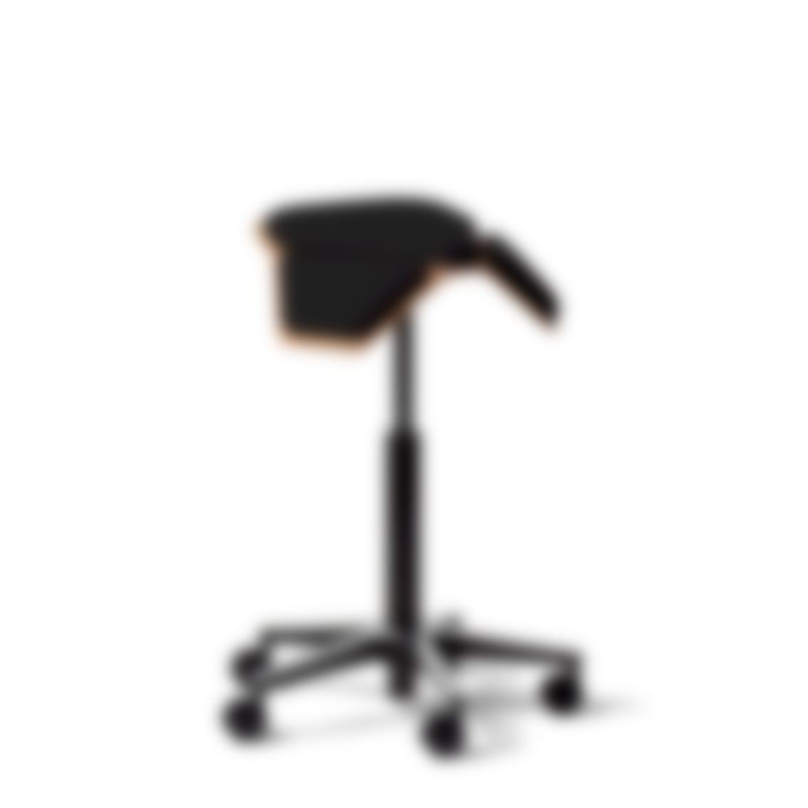 fully iloa saddle chair black