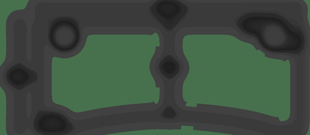 fully jarvis contour desktop spec 180x80 with grommets