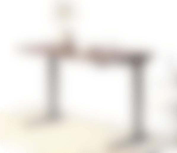 fully jarvis standing desk alloy frame laminate walnut top