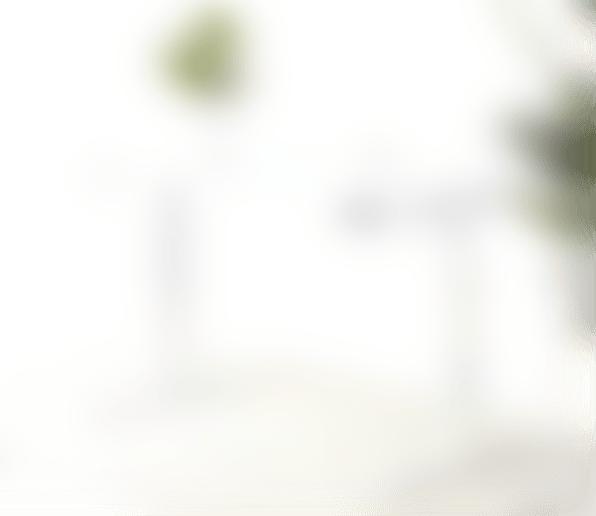 fully remi standing desk white frame white laminate top