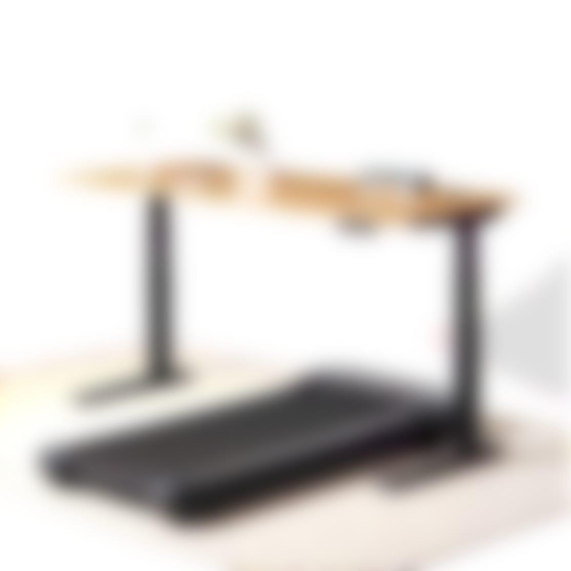 Jarvis Bamboo Treadmill desk