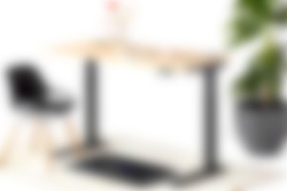 jarvis laminate standing desk black frame numo and muvmat