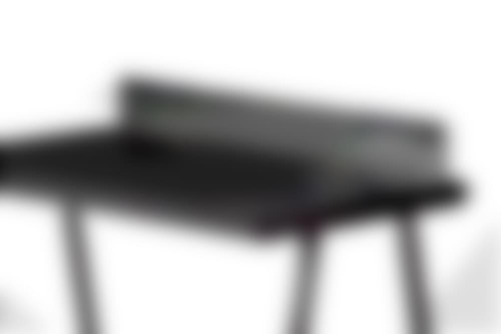 nik desk black surface black frame