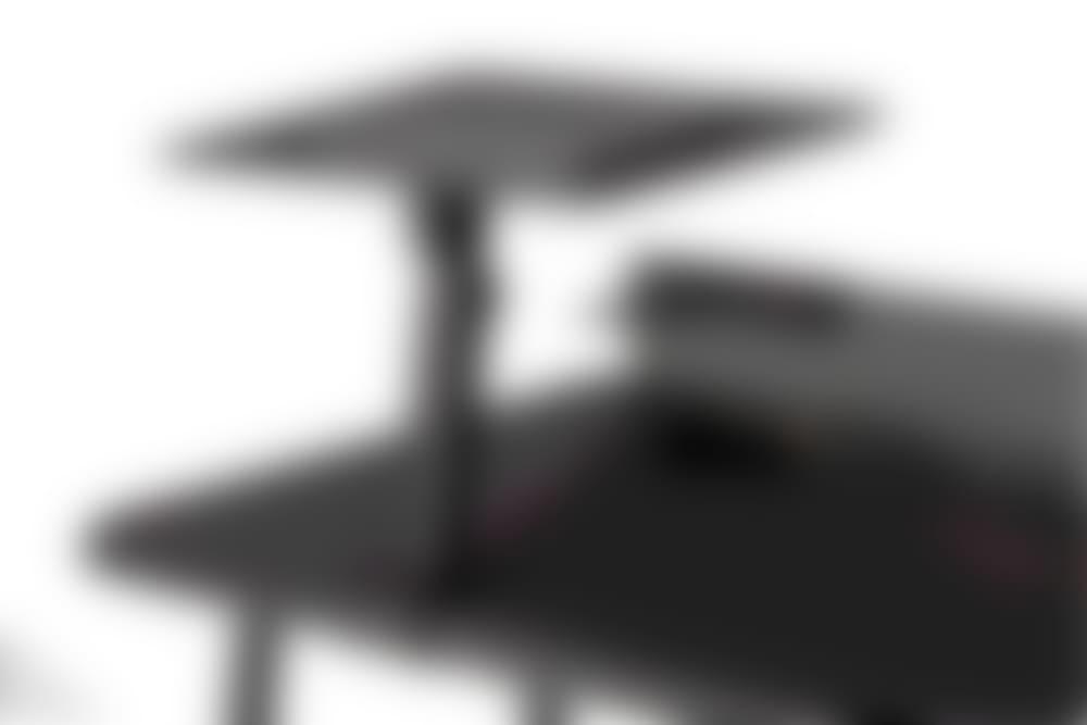 nik desk black surface black frame desk accessory detail image