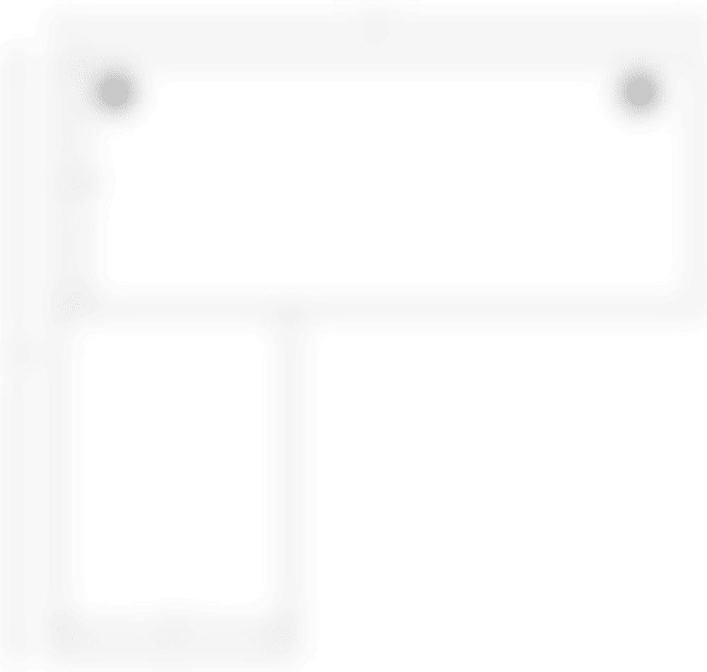 fully jarvis L shape desktop spec 81x72