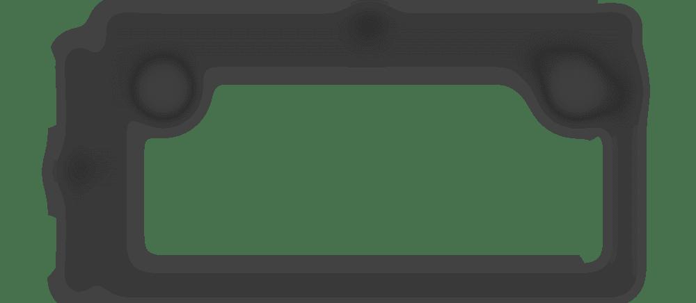 fully jarvis rectangle desktop spec 60x27 with grommet